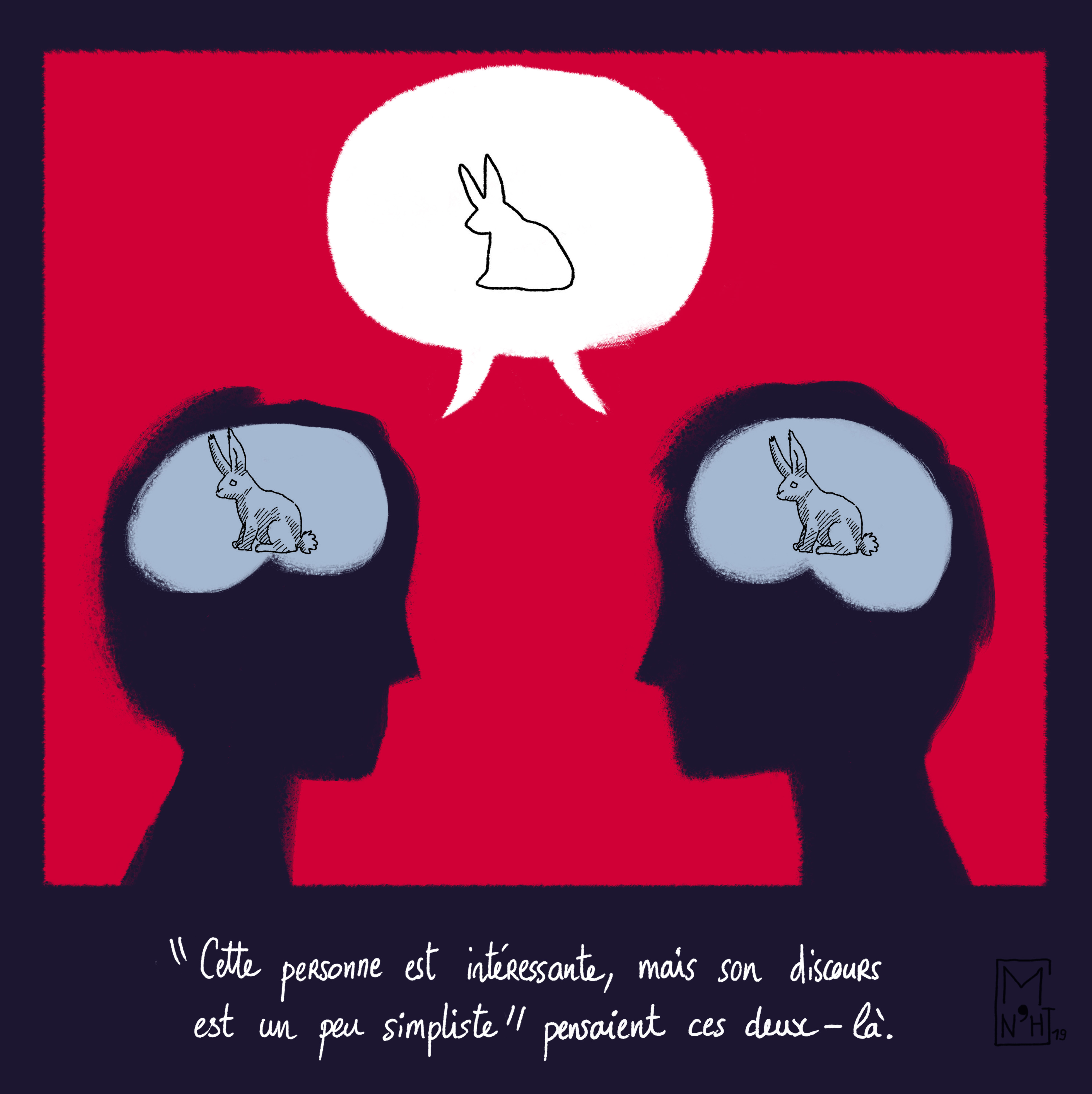 illustration symbolique et philosophique.